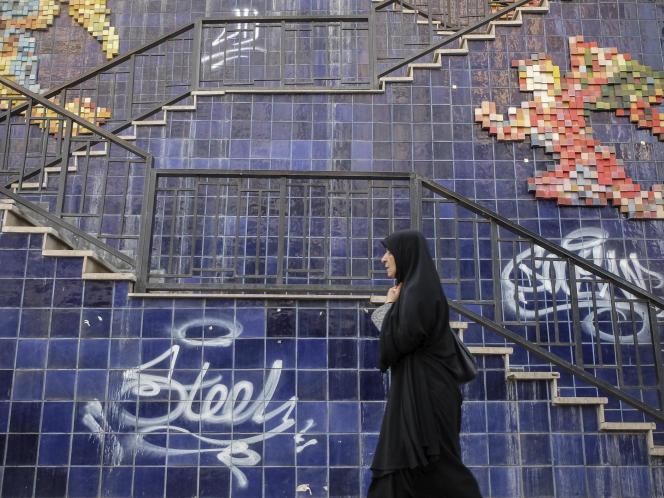 Avenue Valiasr, à Téhéran, en 2019.
