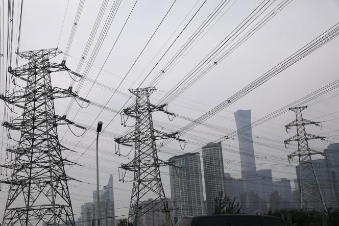 Près de Pékin, le 28 septembre 2021.