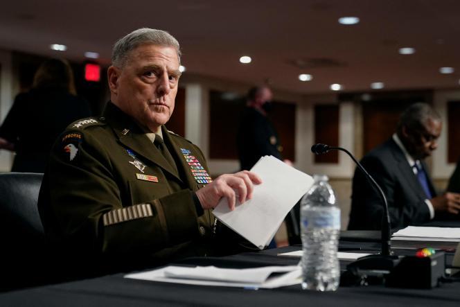 De Amerikaanse stafchef, generaal Mark Milley, staat centraal in de controverse sinds het boek werd uitgebracht