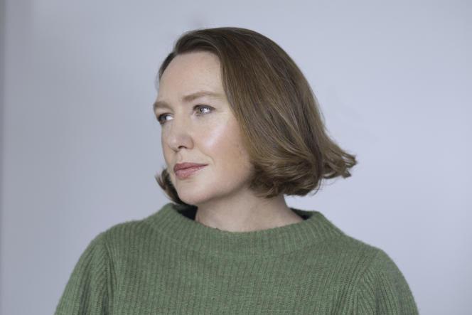 L'écrivaine Paula Hawkins.