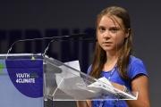 Greta Thunberg, le 28 septembre 2021.