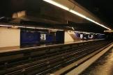 La station Joliette de la ligne2 du métro marseillais, où un contrôle de titre de transport a conduit à la mort deSaïd M'Hadi.