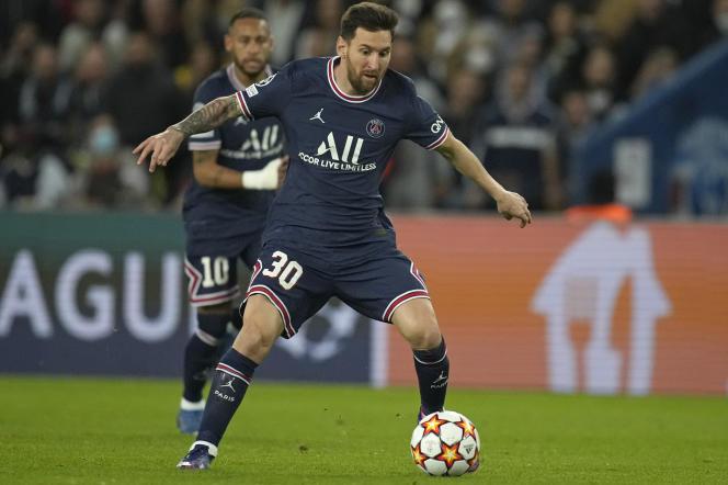 Lionel Messi a marqué son premier but avec le PSG contre Manchester City.