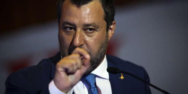 Le chef de la Ligue, Matteo Salvini, de plus en plus isolé en Italie