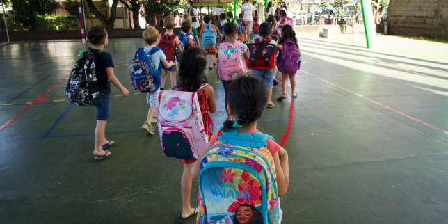 Covid-19: un nouveau protocole sanitaire pour les écoles primaires bientôt testé dans une «dizaine de départements»