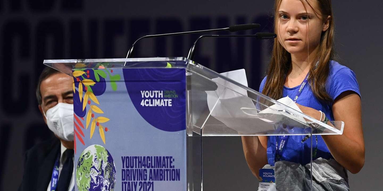 Greta Thunberg dénonce les « bla-bla-bla » de « nos soi-disant dirigeants » sur le climat