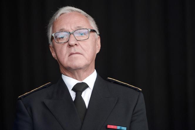 Gilbert Payet, alors préfet des Pyrénées-Atlantiques, à Pau, le 9 septembre 2017.