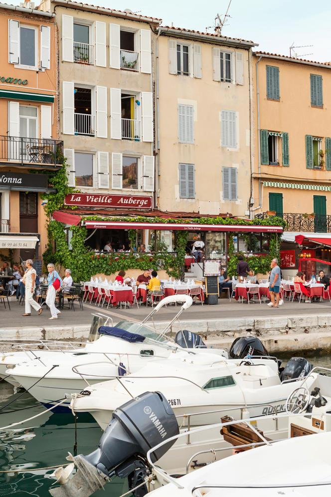 Restaurant La Vieille Auberge, à Cassis.