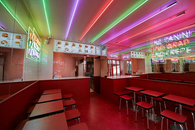 Le Baby Love Burger, dans le 11e arrondissement de Paris.