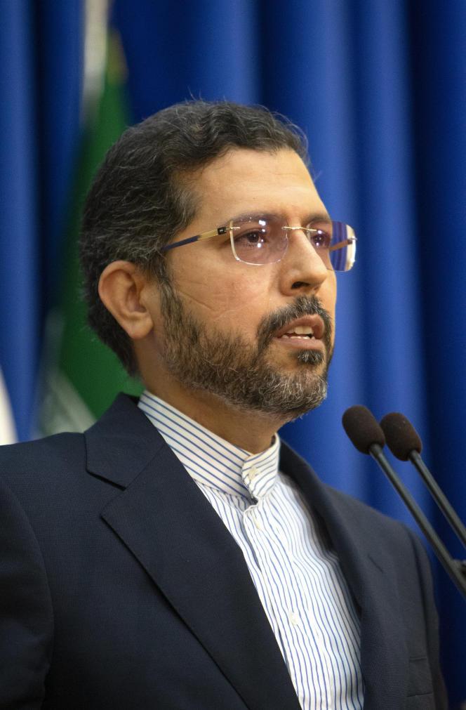 Saeed Khatibzadeh, le 8 mars 2021, à Téhéran.