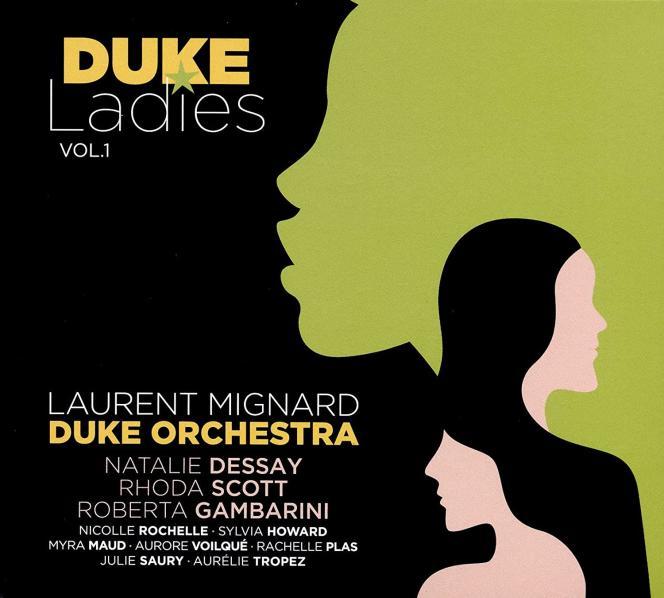 Pochette de l'album «Duke Ladies vol. 1», du Laurent Mignard Duke Orchestra.
