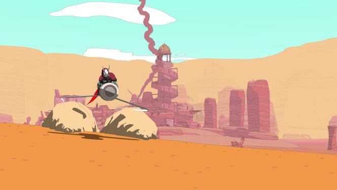 Sable met en scène des personnages issus de tribus nomades dans un univers post-apocalyptique.