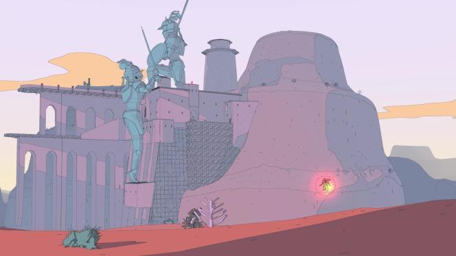 Le joueur aura pour mission de rencontrer un personnage tout en haut de cet impressionnant pont dont une partie est effondrée.