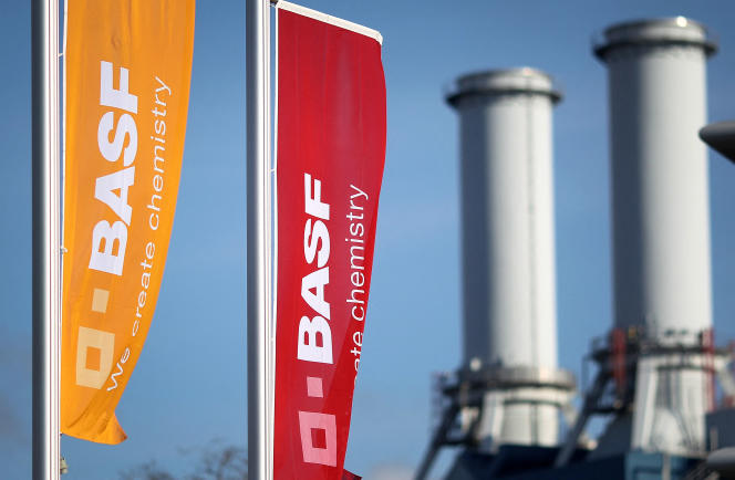 Im Februar 2020 in der BASF-Zentrale in Ludwigshafen.
