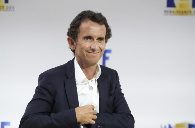 Alexandre Bompard, PDG de Carrefour, à Paris, le 27 août 2020.