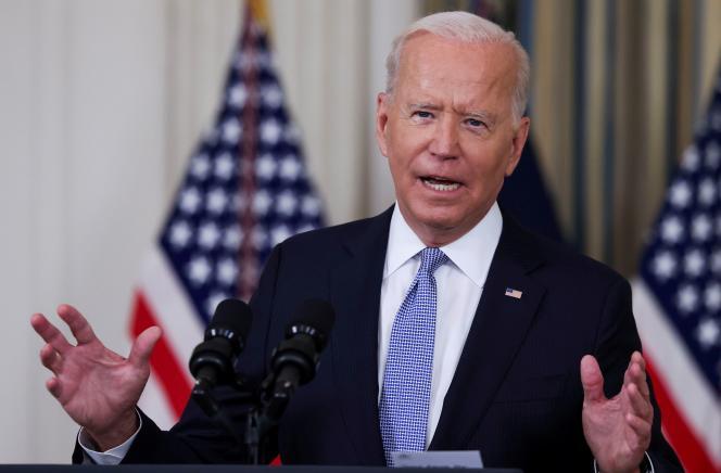 Le président américain, Joe Biden, à la Maison Blanche à Washington, le 24 septembre 2021.