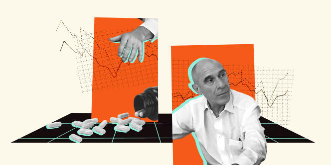 Eric Fiorile, 66, is already an old figure in the conspiracy movements in France.