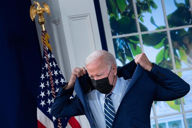 Le président américain, Joe Biden, le 27 septembre 2021, à la Maison Blanche, à Washington.