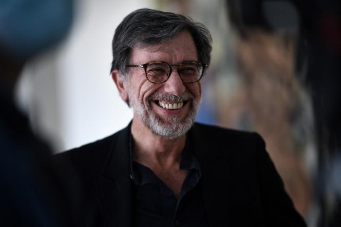Serge Lasvignes, alors président du Centre Pompidou, le 15 juin 2020, à Paris.