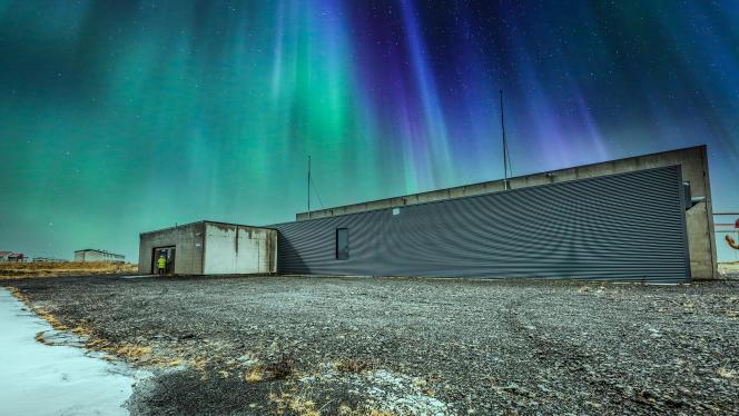 Site du data center de l'entreprise Verne Global, à Reykjanesskagi, en Islande, le 27 juillet 2021.