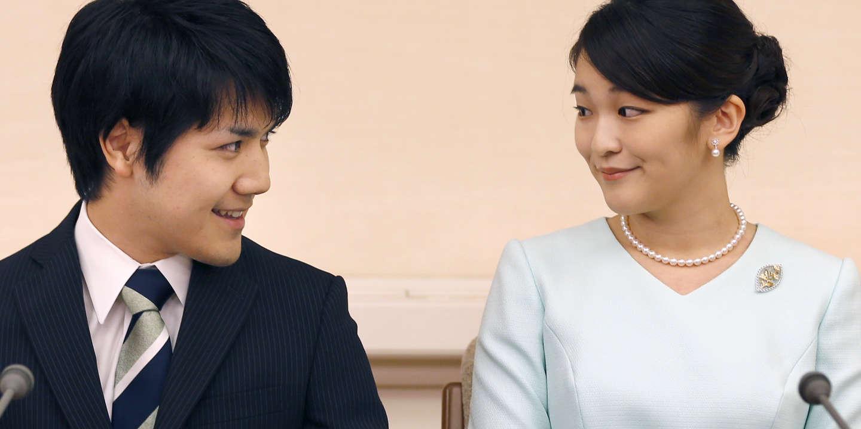 Mariage controversé pour la princesse japonaise Mako