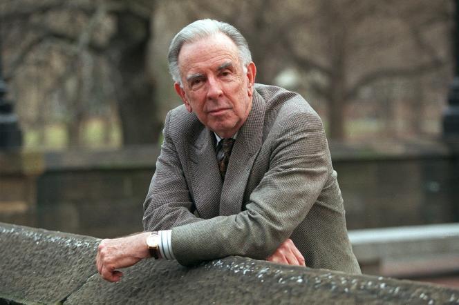 Le compositeur Carlisle Floyd à Central Park à New York le 28 mars 1999.