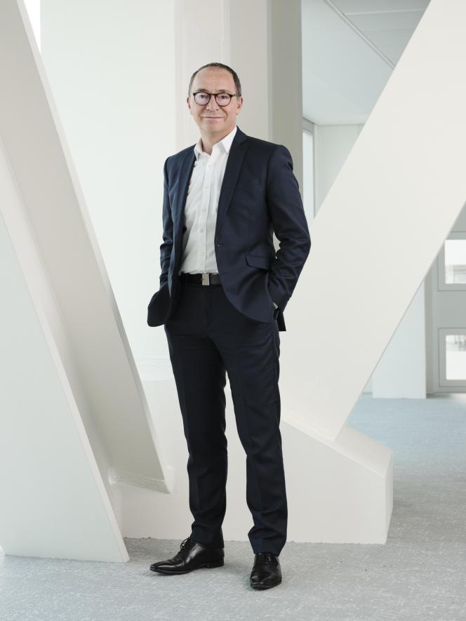 Jean-Philippe Thiellay, président du Centre national de la musique (CNM), en janvier2021.