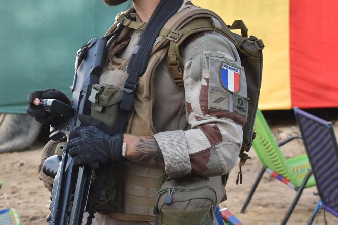 Un soldat français participant à l'opération «Barkhane» près de Tombouctou (Mali), le 9 septembre 2021.