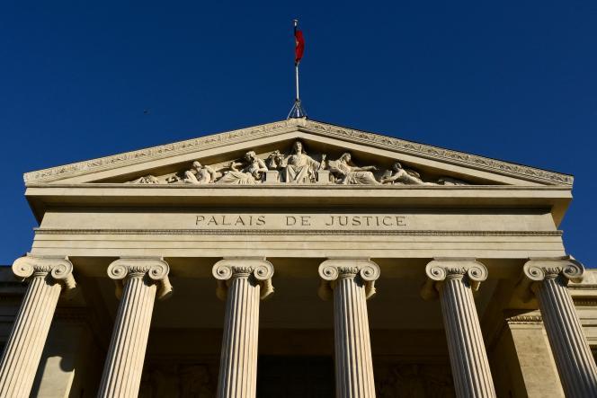 Le palais de justice de Marseille, le 15 mars 2021.