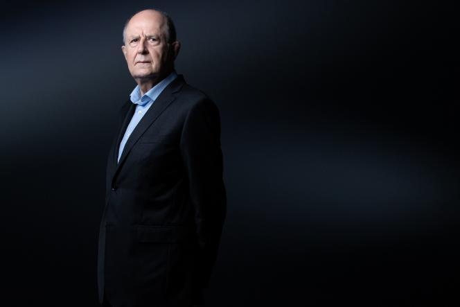 Le président de la commission indépendante sur les abus sexuels dans l'Eglise (Ciase) Jean-MarcSauvé, à Paris, le 28 septembre 2021.