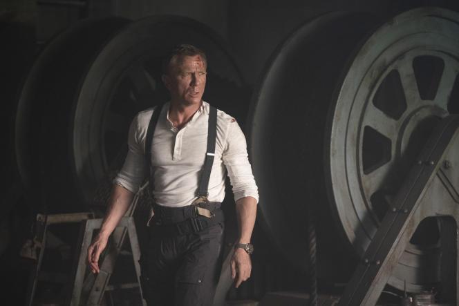 Daniel Craig dans«Mourir peut attendre»,de Cary Joli Fukunaga (2021).