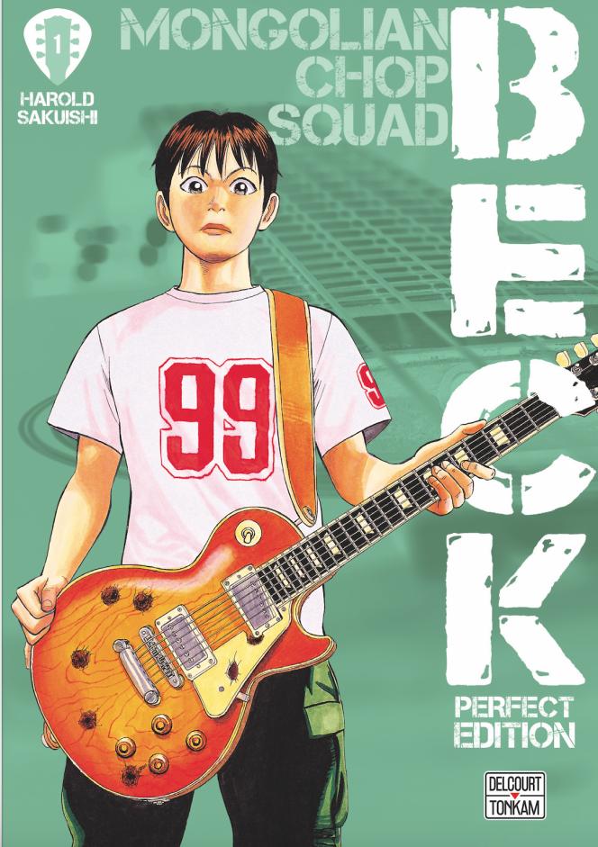 Couverture du premier tome de la réédition de« Beck».