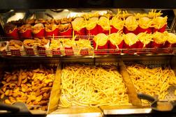 Frites et potatoes, au McDonald's de Viriat(Ain), le 22septembre2021.