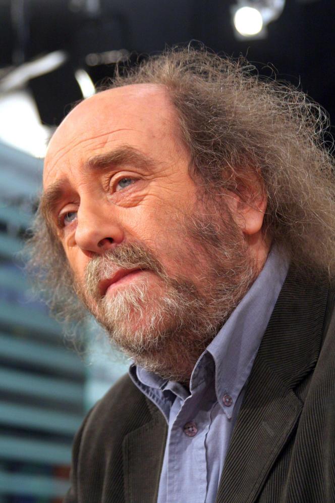 Marcel Dorigny, historien, à Paris, en 2006.