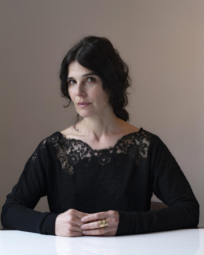 Claire Castillon, en avril dernier.