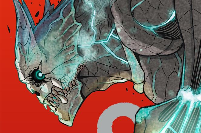 Couverture du tome 1 de« Kaiju 8».