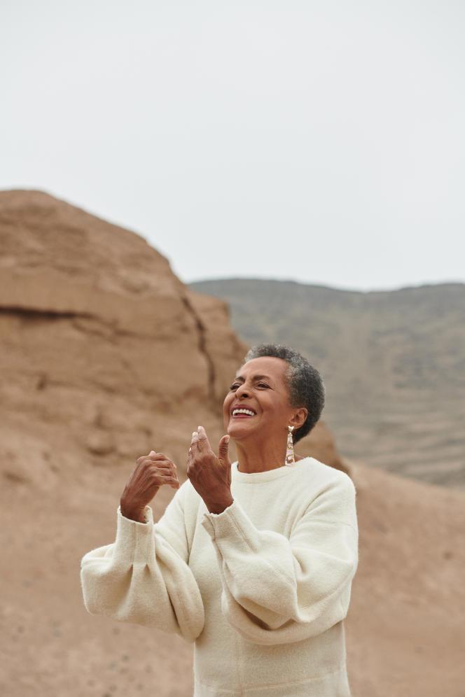 Susana Baca àCañete (Pérou), en mai 2021.