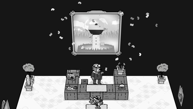 «Toem » est un jeu d'aventure dessiné à la main qui invite le joueur à résoudre des problèmes en prenant de jolies photos.