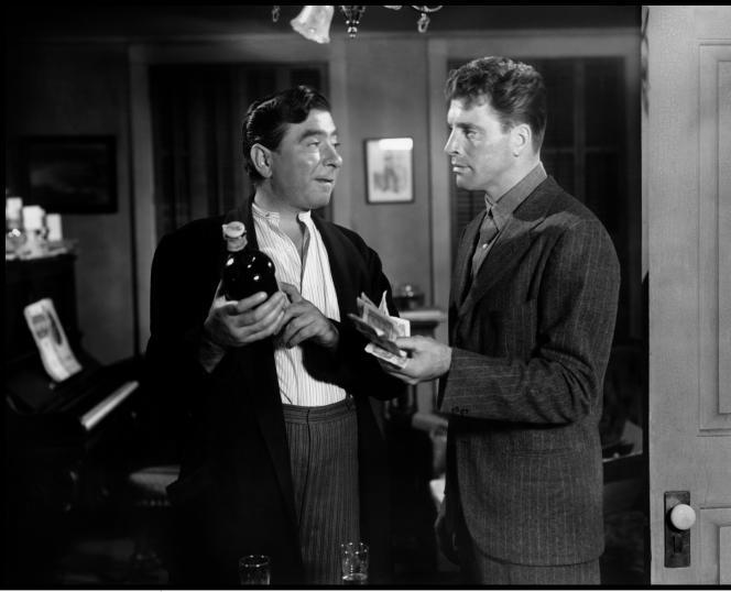 Robert Newton et Burt Lancaster dans «Les Amants traqués»(1948) , de Norman Foster.
