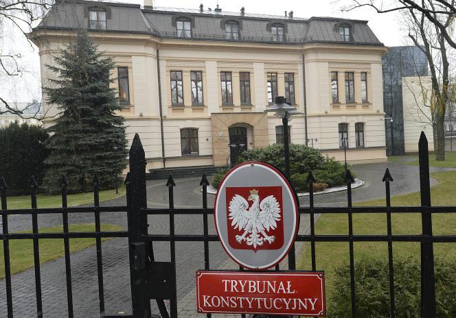 Polski Trybunał Konstytucyjny w Warszawie, grudzień 2017 r.