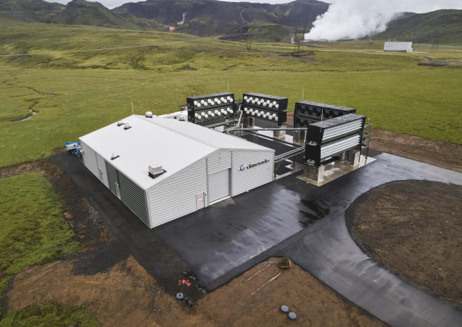 L'usine Orca, à Hellisheidi, en Islande, le 7 septembre 2021.