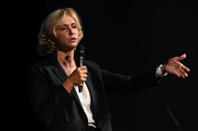 Valérie Pécresse, le 9 septembre 2021 à Paris.