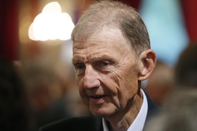 Etienne Mougeotte en septembre 2015, à Paris.