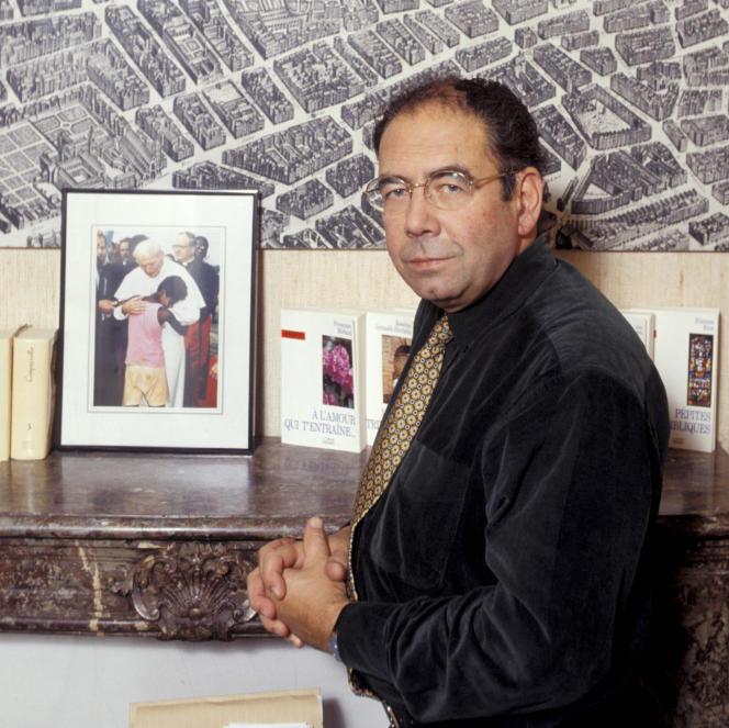 L'historien Philippe Levillain, le 6 novembre 1994.