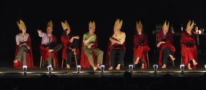 «Table Top Shakespeare», par le groupe Forced Entertainment.