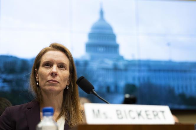 Monika Bickert, responsable des politiques de contenus de Facebook, au Capitole, à Washington, en janvier 2020.