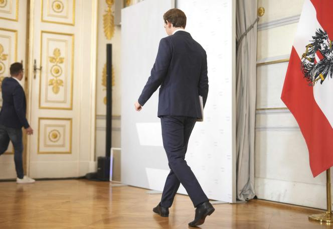 Sebastian Kurz a annoncé sa démission samedi 9 octobre 2021 à Vienne.