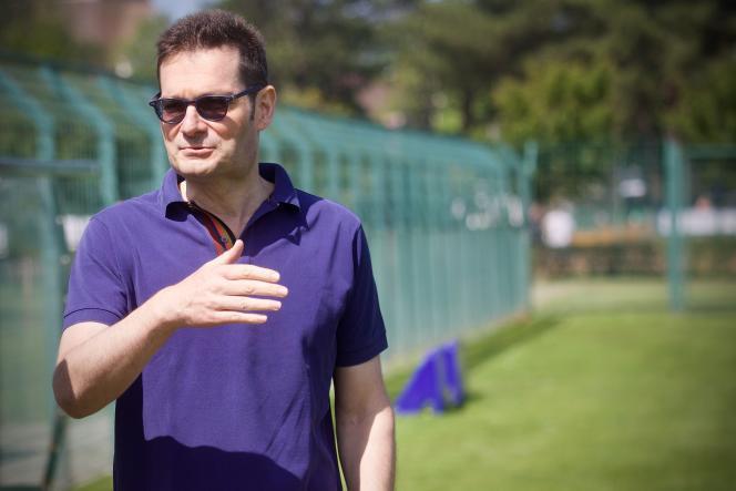 Joseph Oughourlian, fondateur du fonds Amber Capital, au Touquet (Pas-de-Calais), le 15 juillet.