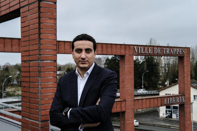 Ali Rabeh, maire de Trappes (Yvelines), le 17 février 2021.
