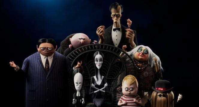 «La Famille Addams2: une virée d'enfer»,de Greg Tiernan et Conrad Vernon.